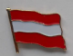 Austria Country Flag Enamel Pin Badge